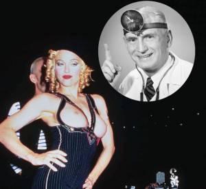 Dr people : Madonna, apres le sein, les fesses... Jusqu'ou ira-t-elle ?