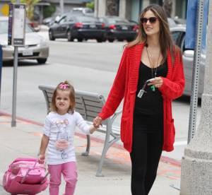 Alessandra Ambrosio et sa fille, un bel exemple de brazilian power