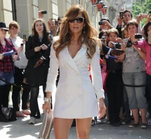 Jennifer Lopez, Eva Longoria, Victoria Beckham : Nues sous leur blazer