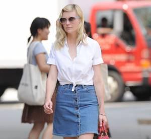 Kirsten Dunst, sa touche denim... A shopper !