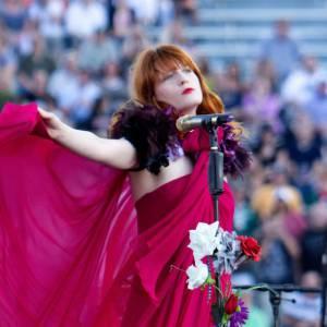 Sur scène... Florence Welch.