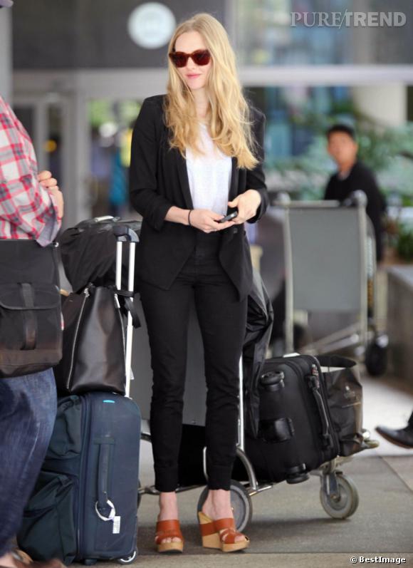 Amanda Seyfried à l'aéroport de Los Angeles le 21 juin.