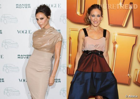 Victoria Beckham et Sarah Jessica Parker, une collaboration très attendue.