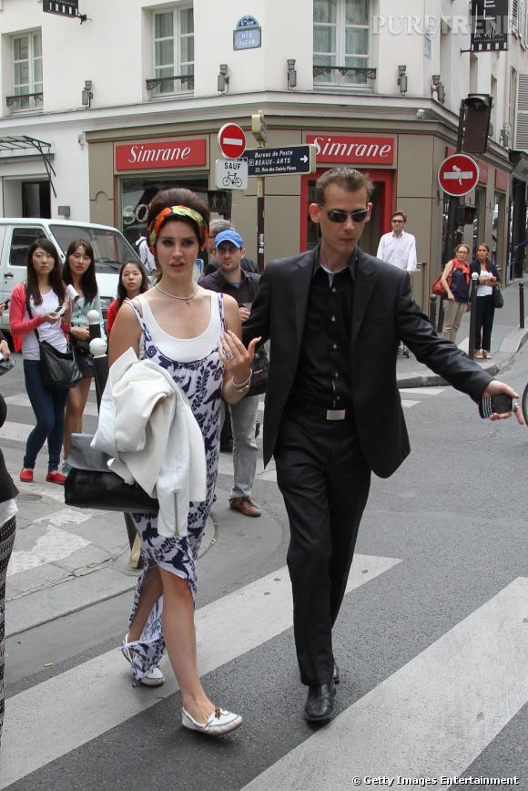 Lana Del Rey à Paris.