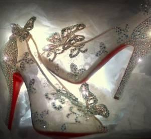 Christian Louboutin dévoile ses souliers de Cendrillon