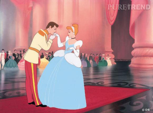 Cendrillon par Walt Disney.