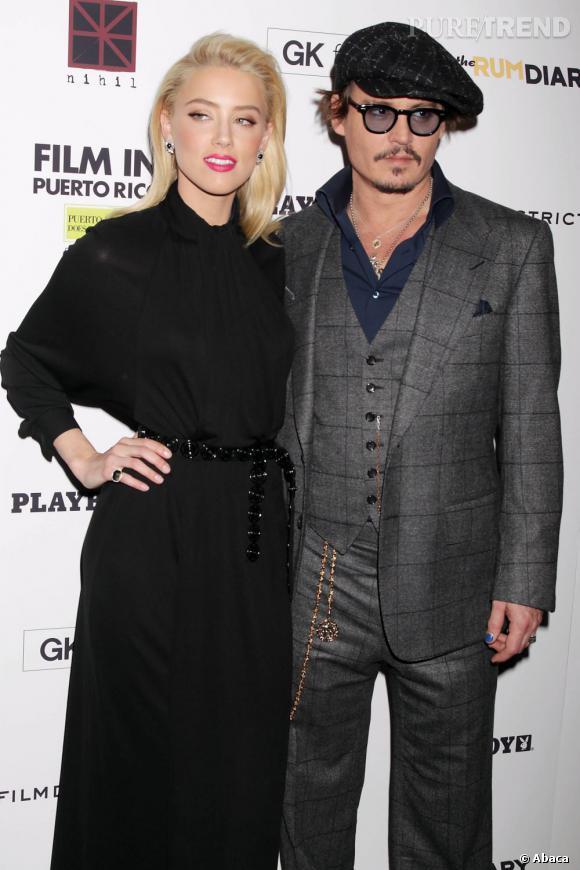La cause de la rupture entre Vanessa Paradis et Johnny Depp ? On murmure que ce serait la bombe Amber Heard avec qui l'acteur serait déjà recasé.