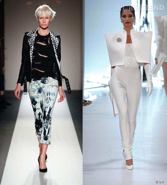 Sur le podium d fil balmain printemps t 2011 et d fil alexandre vauthier haute couture - Printemps ete automne hiver et printemps ...