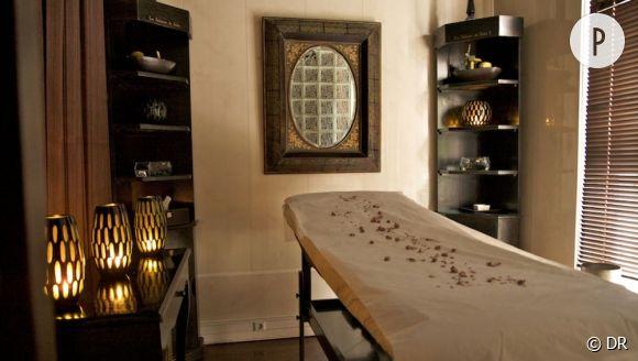 Cet été, on s'offre un soin dans un spa. Ici, une des cabines de La Sultane de Saba.