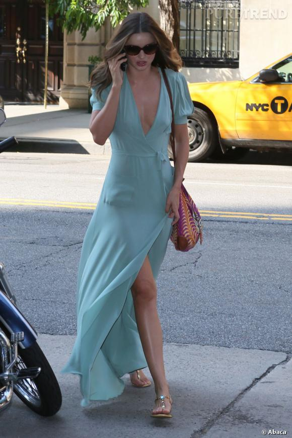 Miranda Kerr est le genre de it-girl qui s'habille bien, même pour aller chez le médecin !