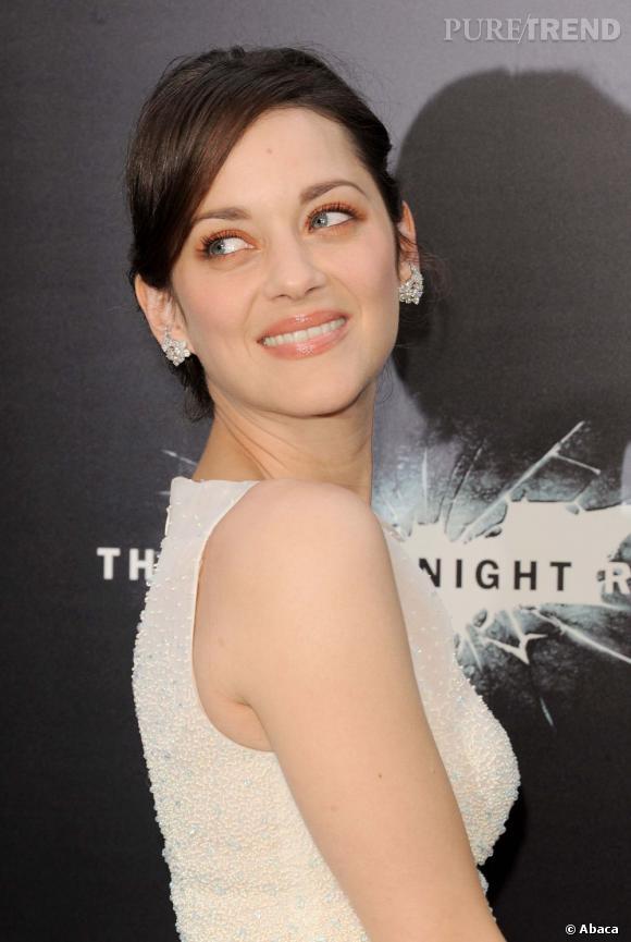 "Marion Cotillard lors de la première de ""The Dark Knight Rises"" à New York."