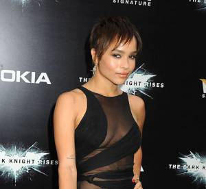 Dark Knight Rises : Zoe Kravitz et Juno Temple a la premiere, 2 it-girls pour 2 petites robes noires