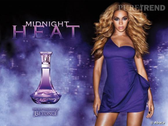Beyonce vient de sortir une nouvelle déclinaison de son parfum Heat.