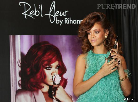 Reb'l Fleur , le nouveau jus de Rihanna dont le nom est inspiré de son tatouage.
