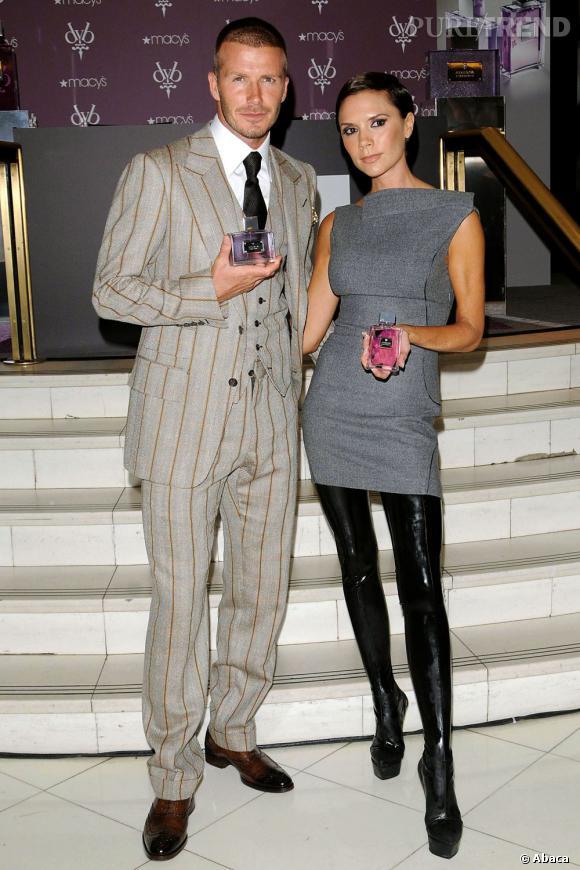Les Beckham eux ont aussi leur franchise parfumée.