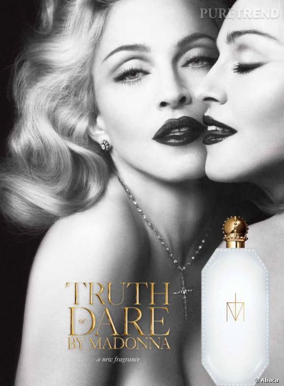 Madonna a récemment lancé sa fragrance Truth or Dare.