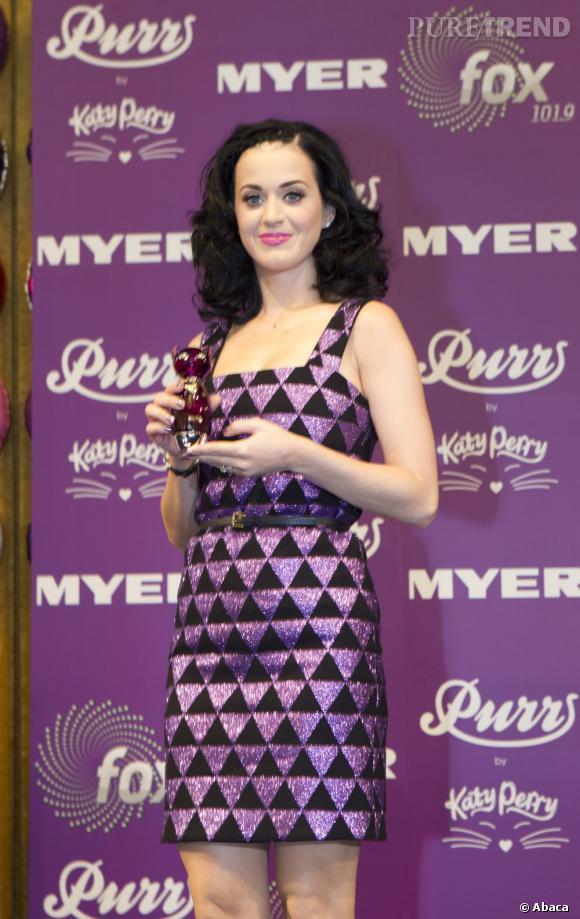 Katy Perry séduit ses jeunes fans avec sa deuxième fragrance Meow.
