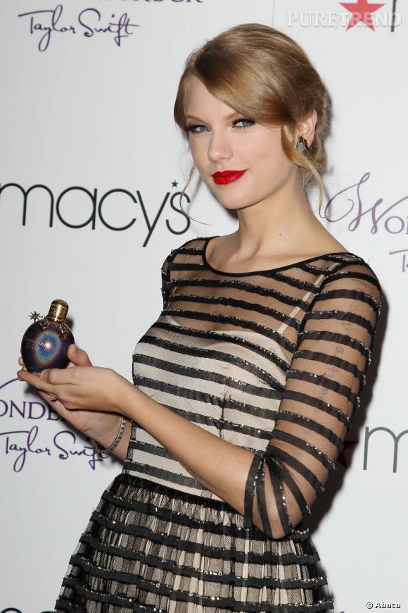 Taylor Swift fait sensation avec son parfum Wonderstruck.