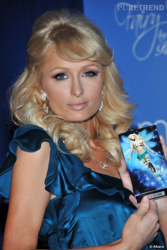 Paris Hilton et son parfum Fairy Dust, le plus récent d'une longue lignée lucrative.