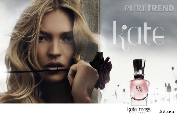 En bonne experte beauté, Kate Moss a créé sa fragrance éponyme.