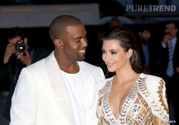 Kanye West amoureux de Kim Kardashian.