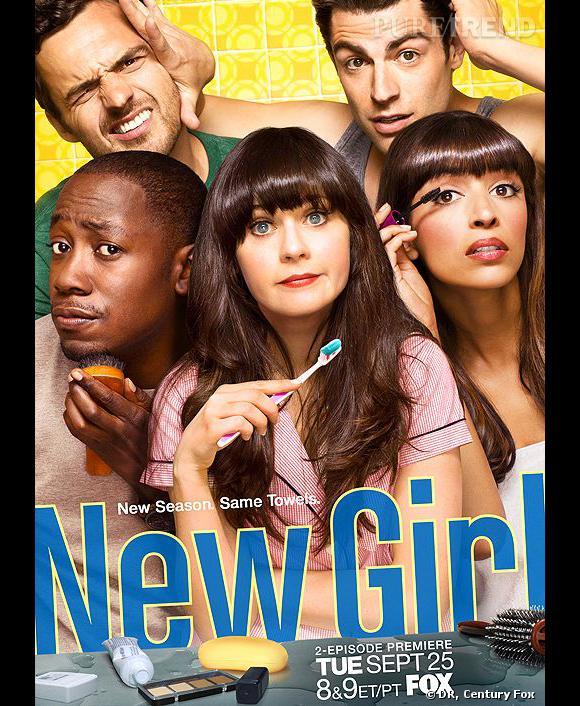"""Zooey Deschanel et toute sa bande pour une saison 2 de """"New Girl"""" qui promet."""