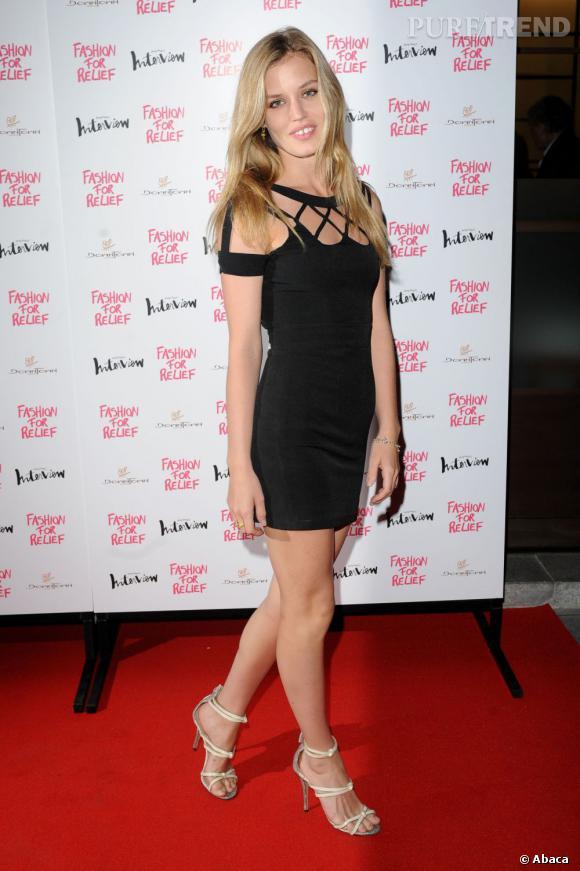 Georgia May Jagger à la soirée Fashion for Relief le 9 août dernier.