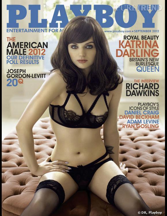 Katrina Darling, la cousine de Kate Middleton pose pour Playboy.