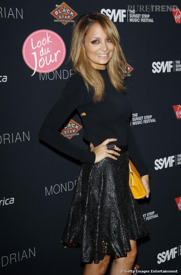 Nicole Richie au 5ème Sunset Strip Music Festival organisé par Virgin à Hollywood.