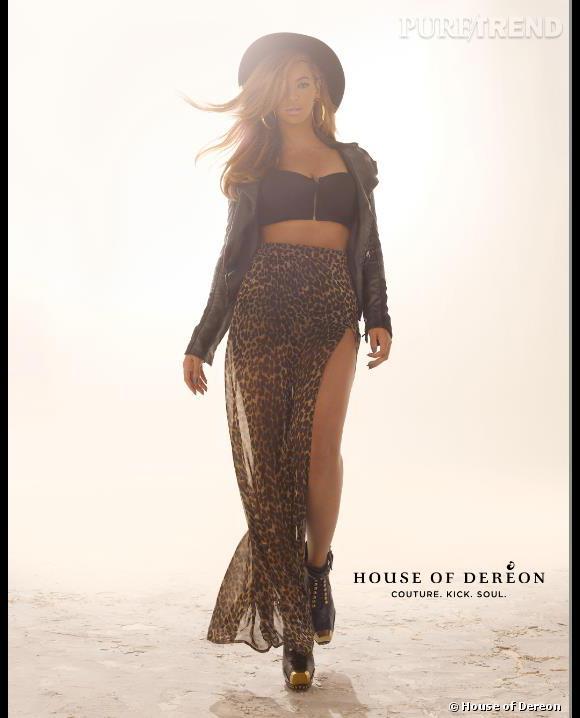 Beyoncé joue les égéries pour la marque familiale House of Dereon.