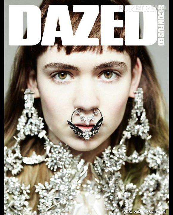 Grimes, la nouvelle chanteuse à suivre de très près. La preuve : non seulement elle a fait la couverture de Dazed & Confused (la classe) mais en plus elle était à Rock en Seine.