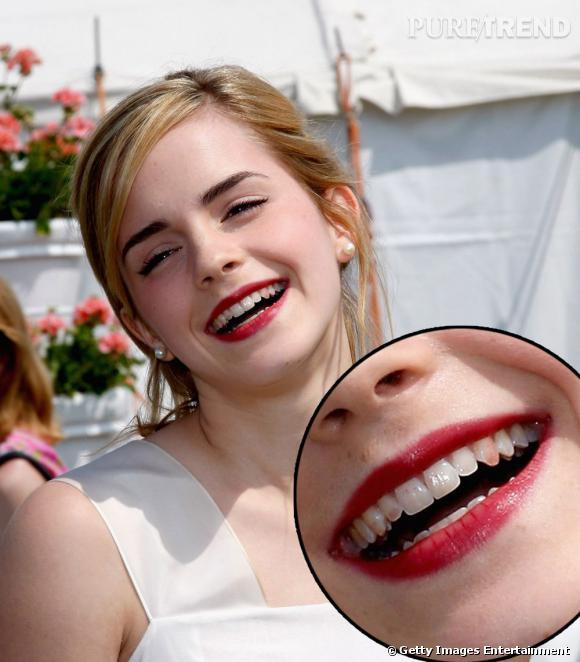 Dommage, la parfaite Emma Watson a elle aussi commis une petite erreur make-up !