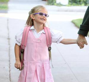 Violet Affleck, Suri Cruise, Honor Warren... C'est la rentree des classes !