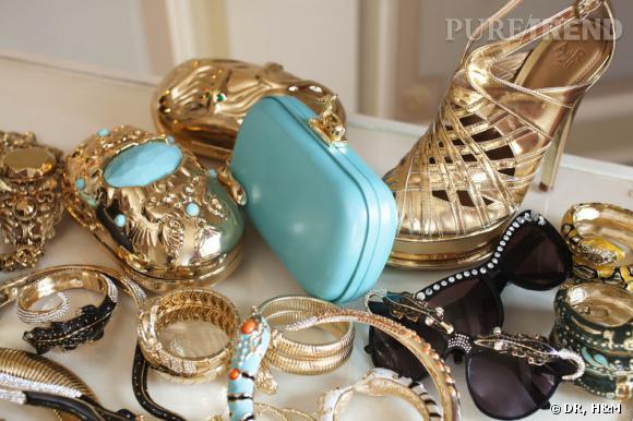 Les bijoux Anna Dello Russo pour H&M.