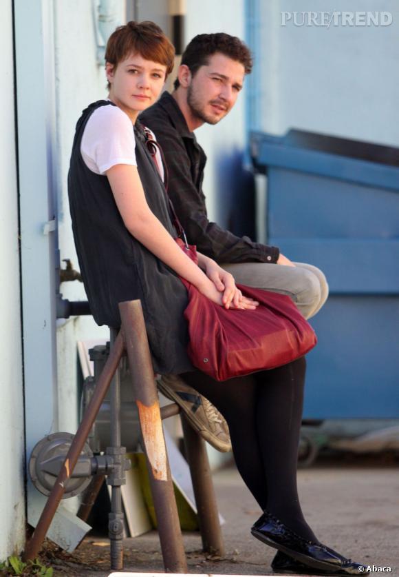 Le meilleur look en couple de Shia Labeouf :  On regrette déjà le magnifique couple que formaient Shia Labeouf et Carey Mulligan. Simples et naturels, les deux acteurs sont une vraie bouffée d'air frais !