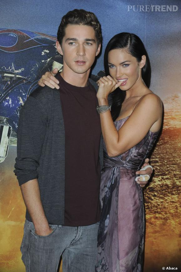 Le pire look en couple de Shia Labeouf :  Avec Megan Fox, ça ne colle pas... Trop décontracté, le couple à l'écran ne convainc pas.