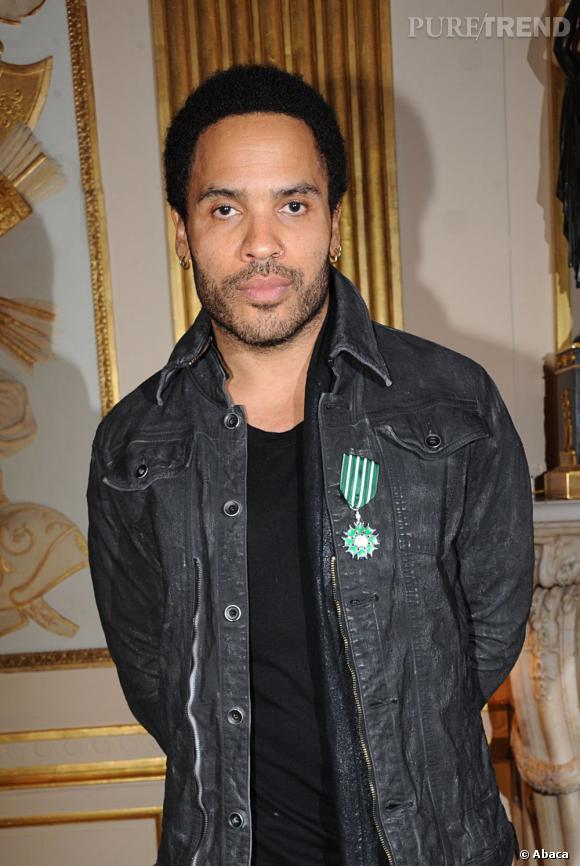 Lenny Kravitz a un appartement dans le Marais à Paris.