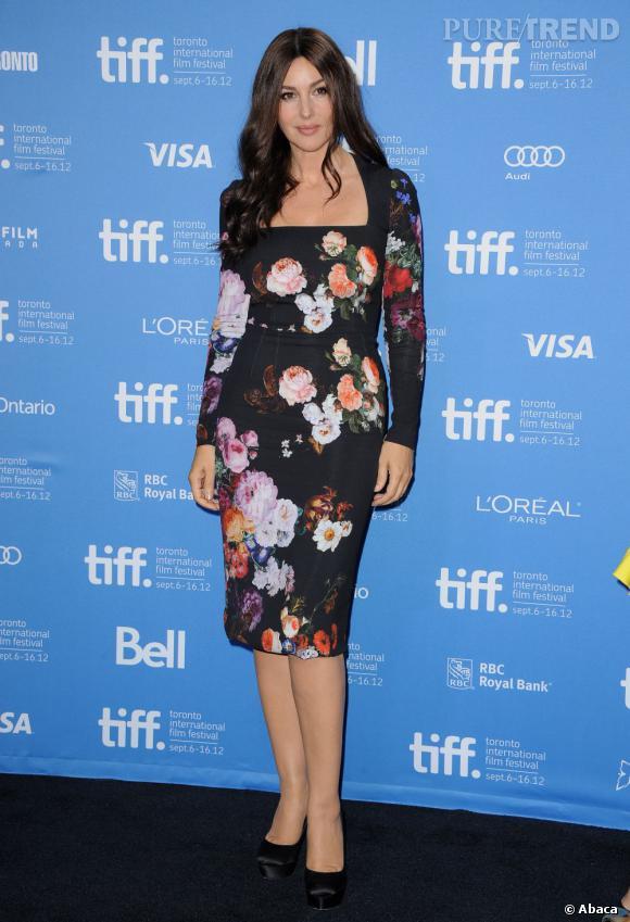 Monica Bellucci au Festival International du Film de Toronto le 12 septembre dernier.