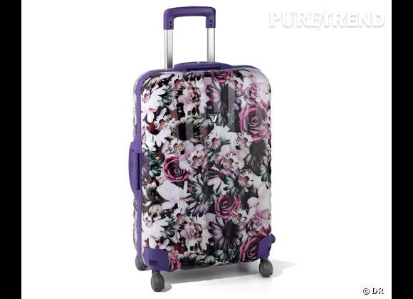 Must have de la semaine :      Valise fleurie Roncato, 299 €