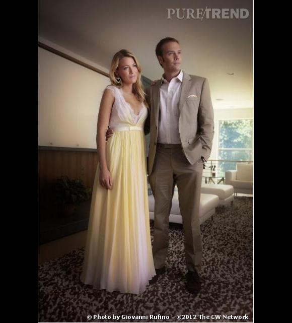 """On la retrouve au bras d'un nouveau prétendant, Barry Watson alias Matt Camden de """"7 à la maison"""". S'agit-il de son mariage ? Le suspense est intense."""