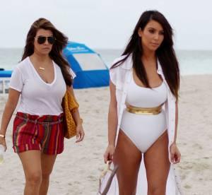 Kim Kardashian : détente en maillot de bain malgré le scandale des sex-tapes