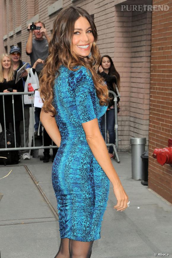 Sofia Vergara à New-York le 26 septembre dernier.