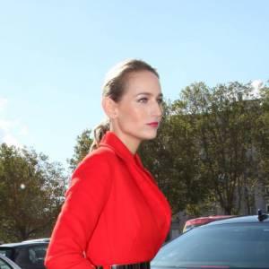 Leelee Sobieski chez Christian Dior.