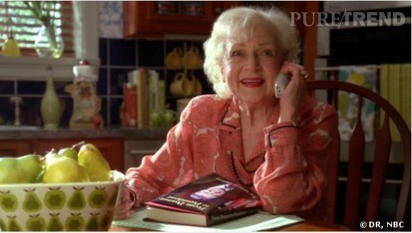Betty White a joué les guest stars dans 30 Rock.