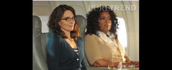 Oprah Winfrey a joué les guest stars dans 30 Rock.