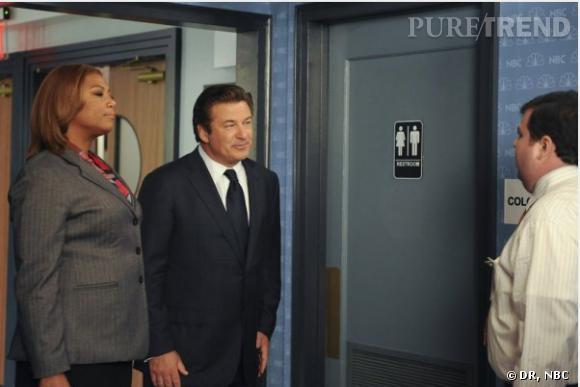 Queen Latifa a joué les guest stars dans 30 Rock.