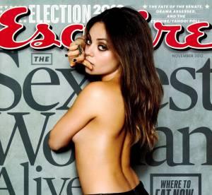 Mila Kunis, femme la plus sexy du monde : une bombe en Une d'Esquire