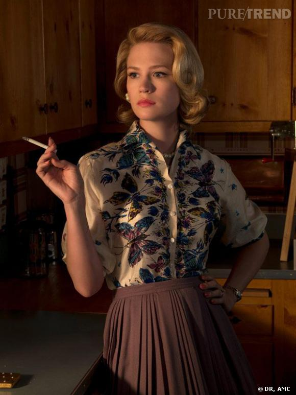Betty Draper de la série Mad Men est une femme au foyer qui reprend sa vie en mains.