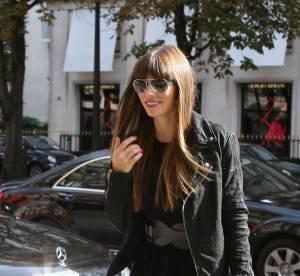 Jessica Biel, gravure de mode à Paris... A shopper !