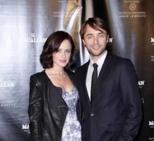 La jeune femme est venue accompagnée de son boyfriend Vincent Kartheiser.
